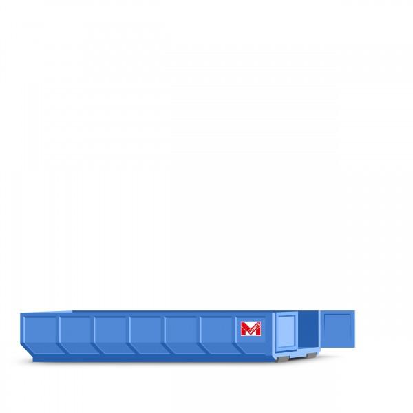 20 cbm Abrollcontainer für Porenbeton